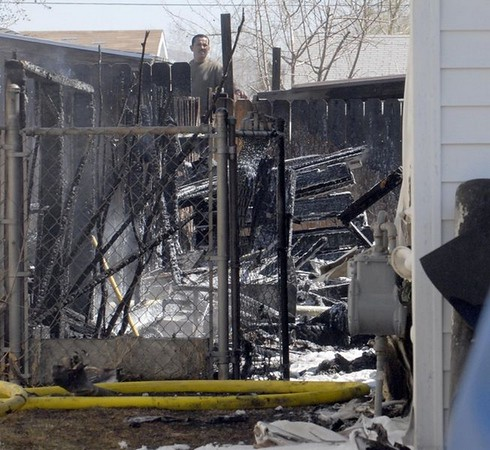 House Fire in Reno - March 2009